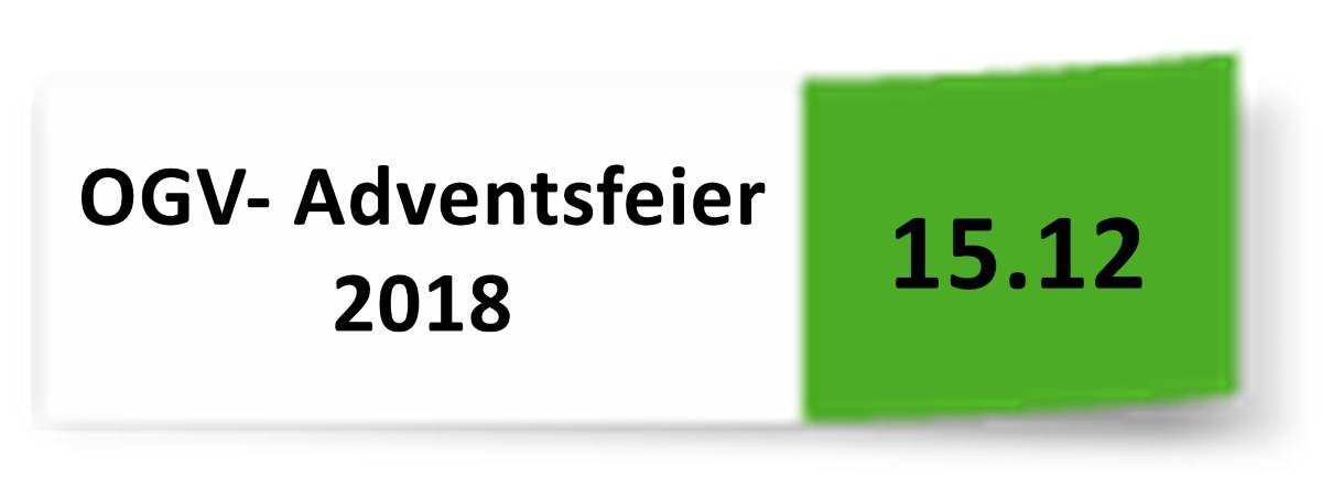15.12.2018 OGV- Adventsfeier